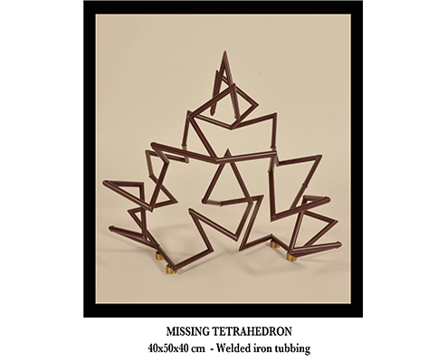 Missing tetrahedron